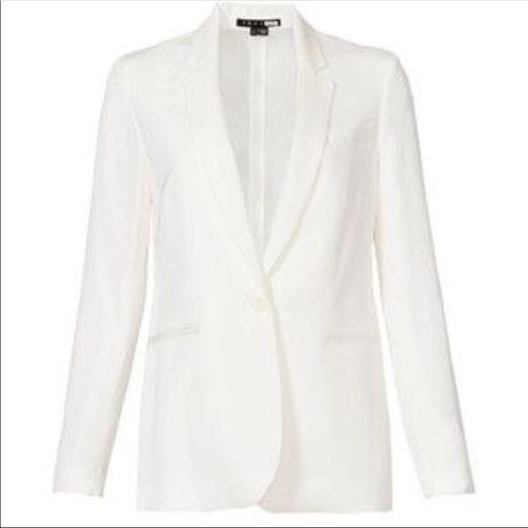 Jackets & Blazers - White womens blazer